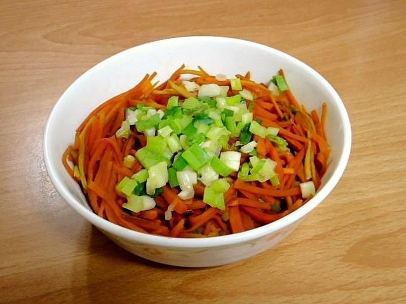 炒薑絲胡蘿蔔