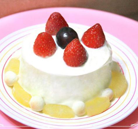 寶寶水果優格吐司蛋糕