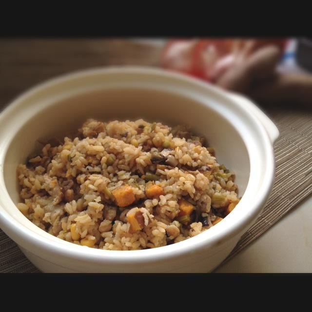 春季蔬菜炊飯(電鍋三步驟)