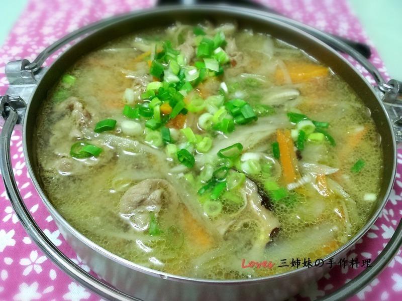 豚汁~味噌豬肉鍋
