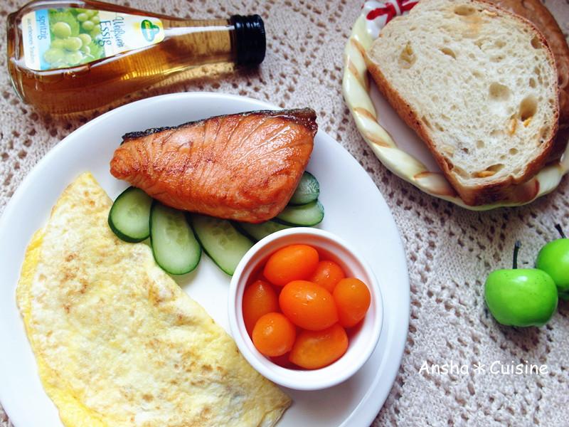 英式鮭魚早午餐