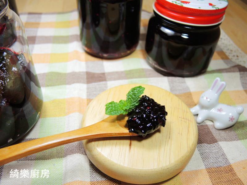 桑椹覆盆子果醬
