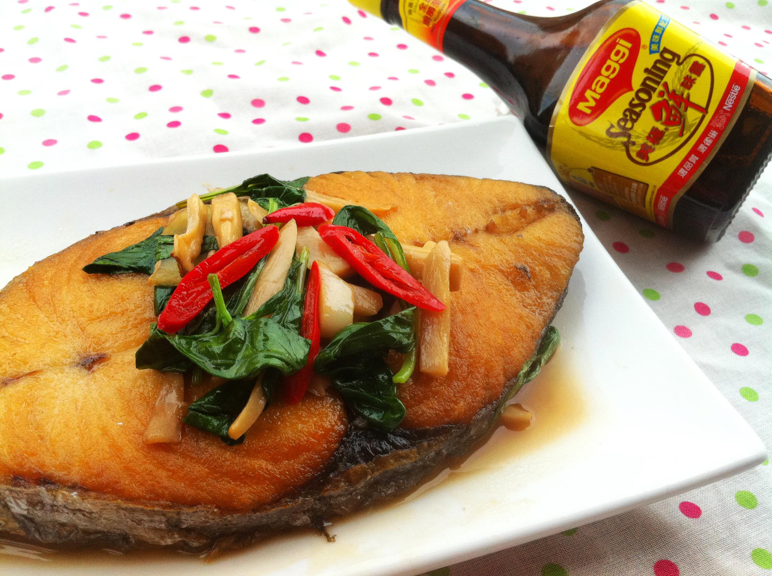 塔香土魠魚《美極鮮味露》