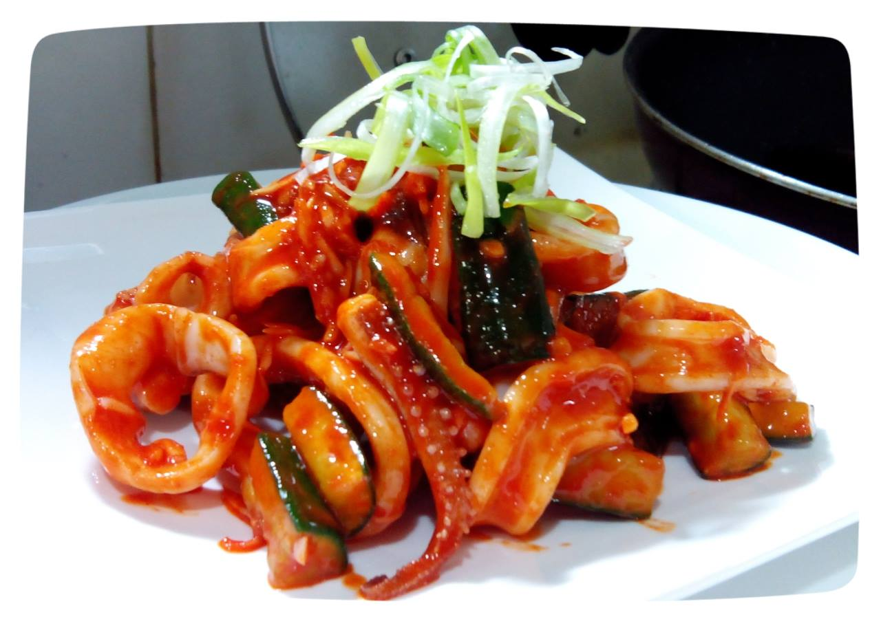 韓式涼拌辣魷魚