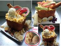 水果沙拉吐司盒Panasonic製麵包機