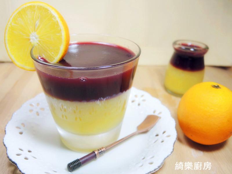 柳橙桑椹果凍