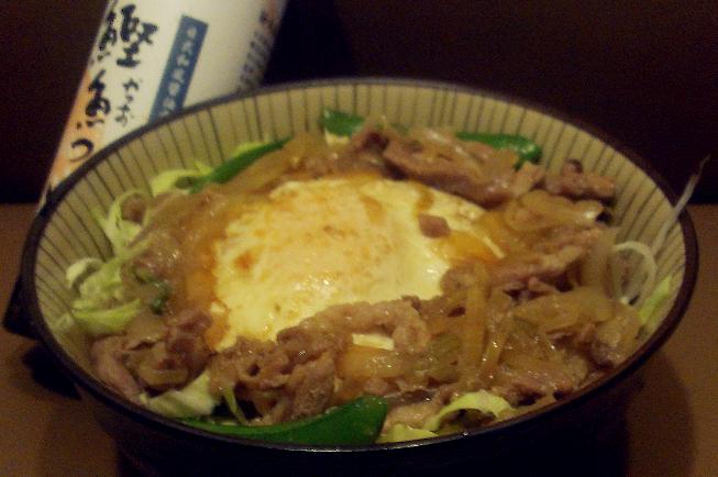 日式荷包蛋丼飯『淬釀日式下午茶點』