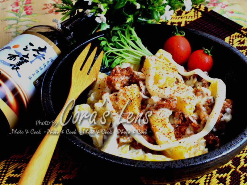 【淬釀中式下午茶點】鳳梨辣拌肉