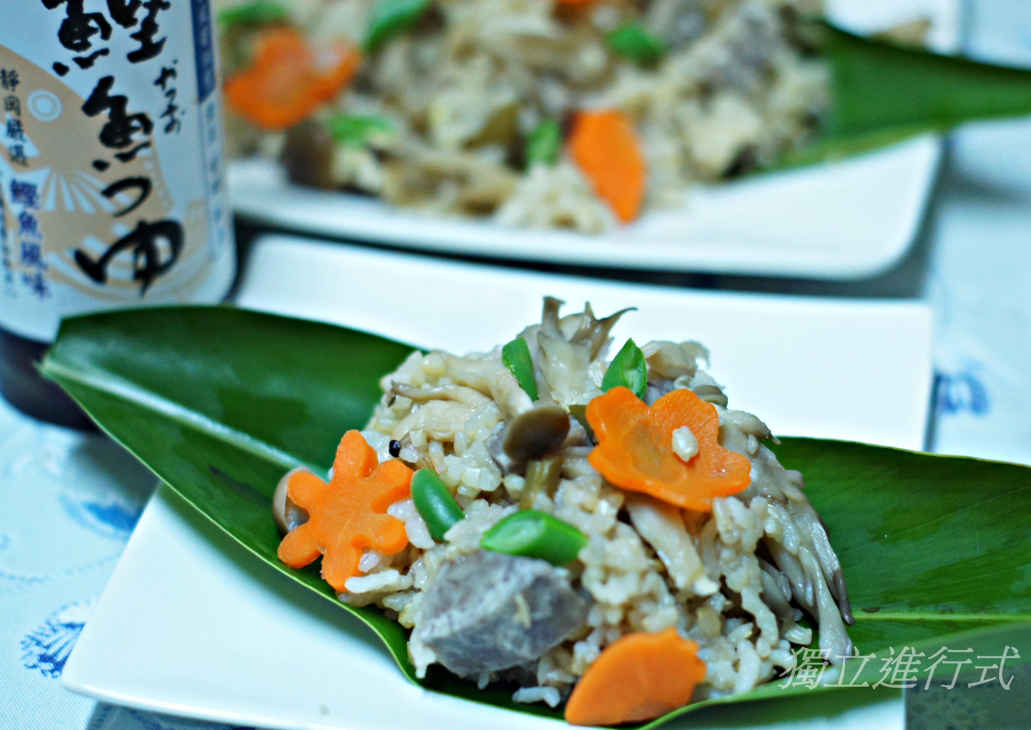 日式雜炊竽菇飯~淬釀日式下午茶點