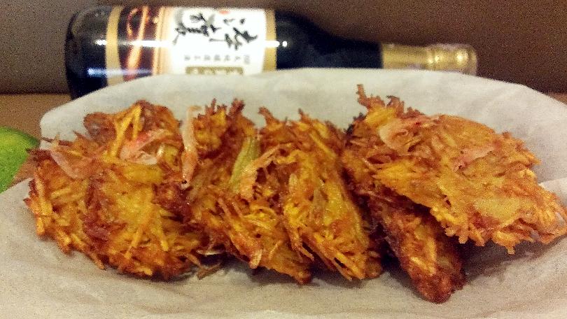 櫻花蝦洋蔥地瓜餅【淬釀中式下午茶點】