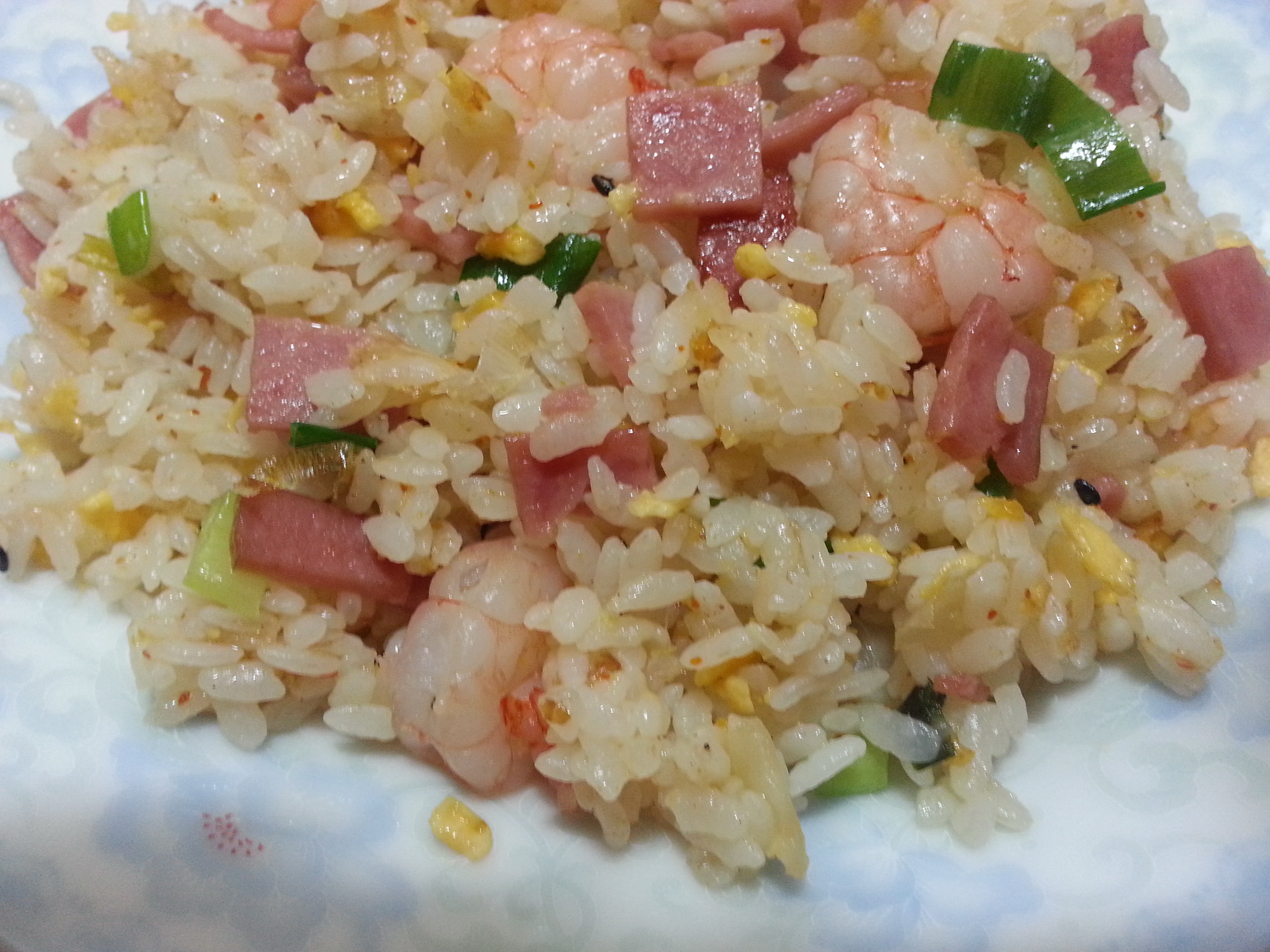 蝦仁火腿蛋炒飯