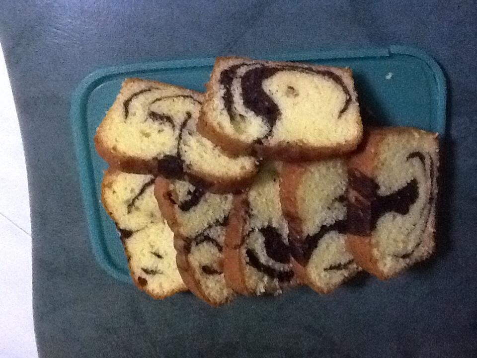 松饼粉大理石蛋糕