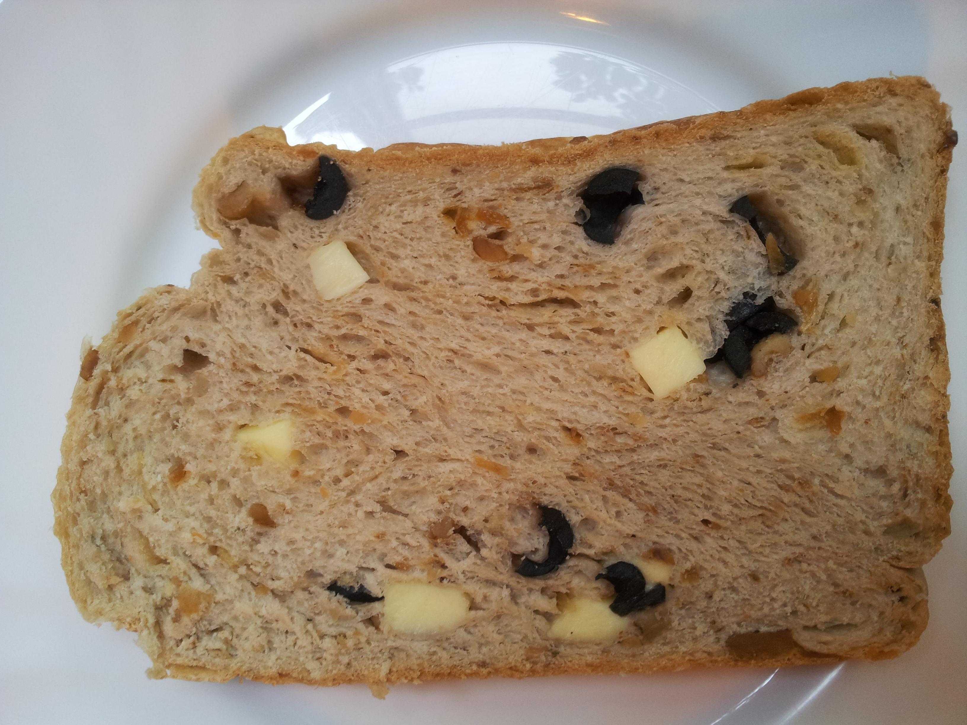 湯種義大利香草橄欖乳酪吐司『Panasonic製麵包機』