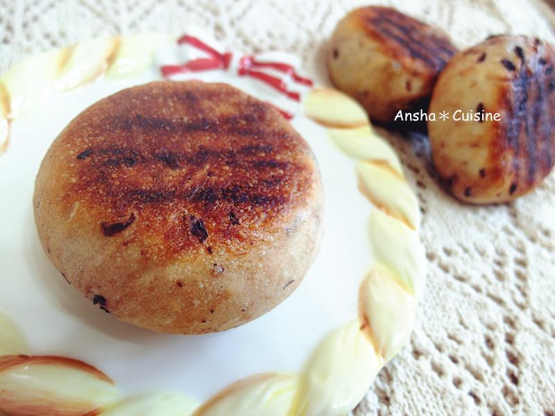 平底鍋麵包♡英式紅豆瑪芬