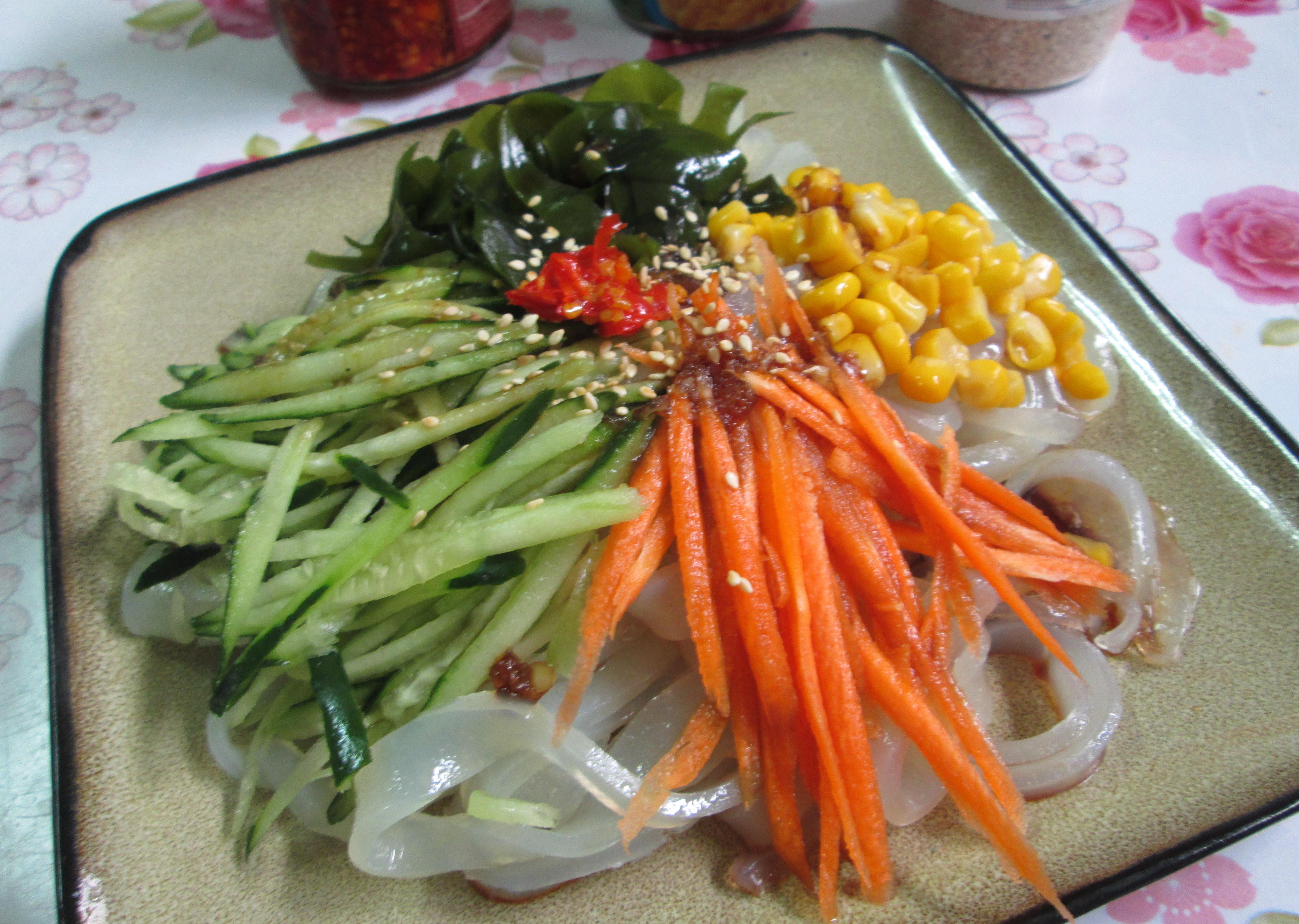 自製綠豆粉皮