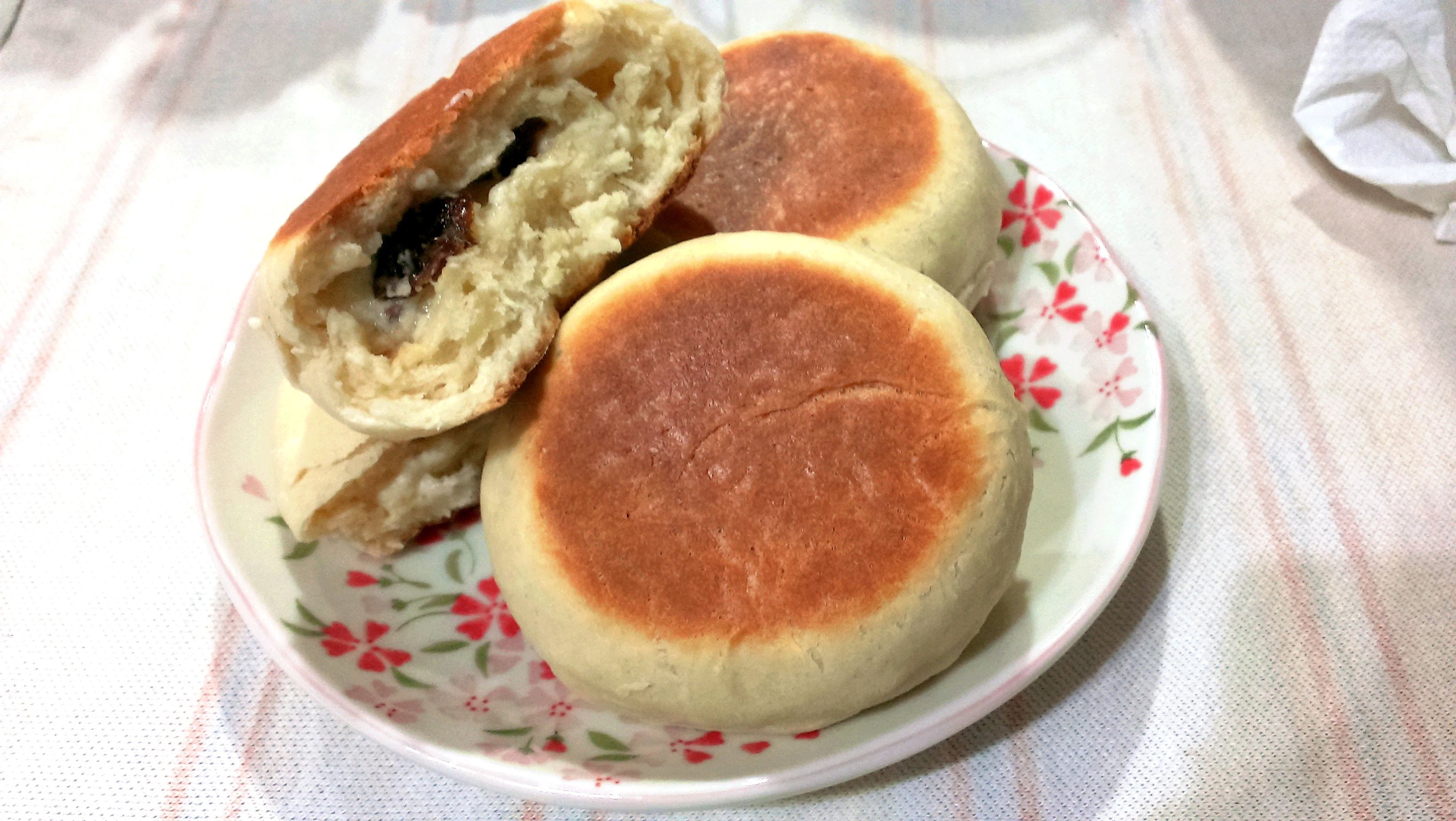 免發酵平底鍋快速小麵包