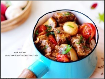 番茄蘑菇燉牛腩