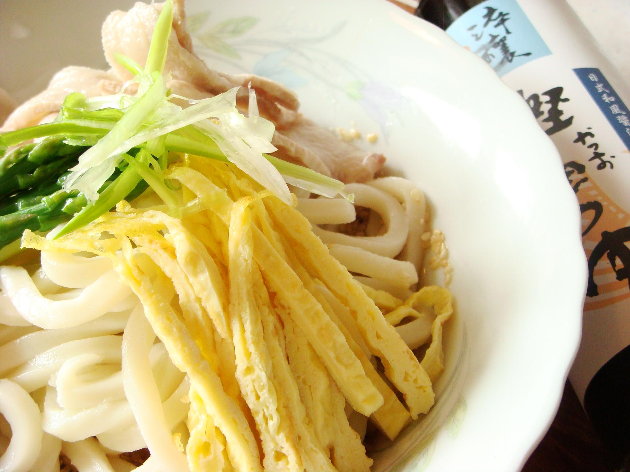 烏龍冷麵-『淬釀日式下午茶點』