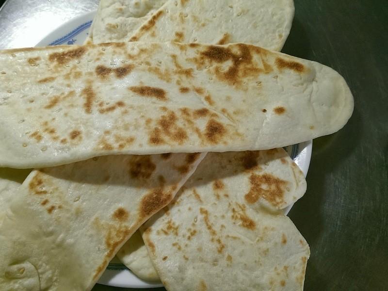 印度烤餅(Naan)