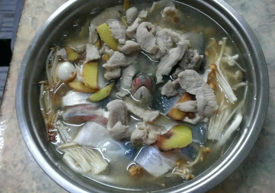 午魚菇菇鍋