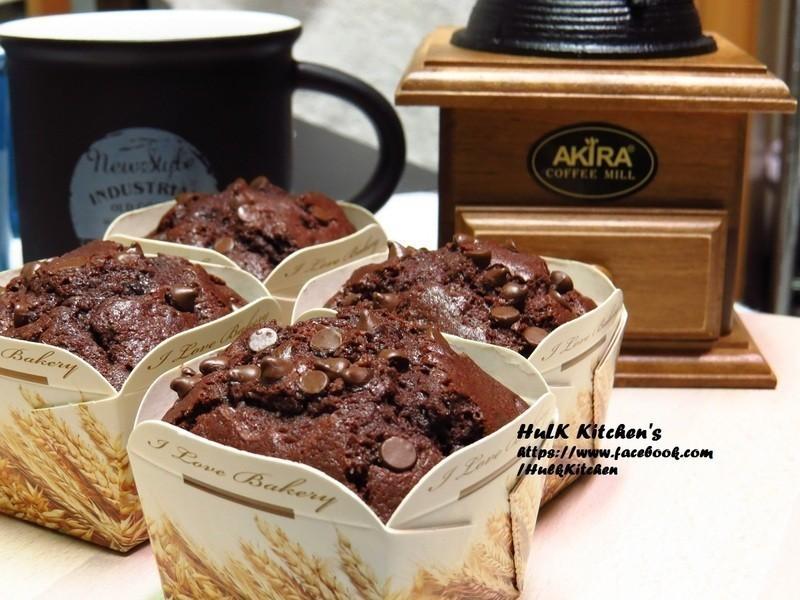 巧克力豆瑪芬