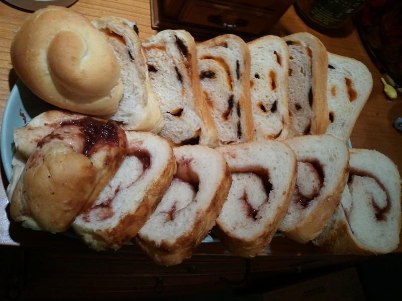 雙口味土司麵包Panasonic製麵包機