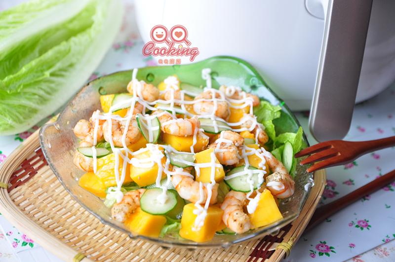 【頂好超市】芒果拌鮮蝦沙拉