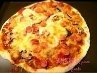 瑪格麗特薄皮pizza