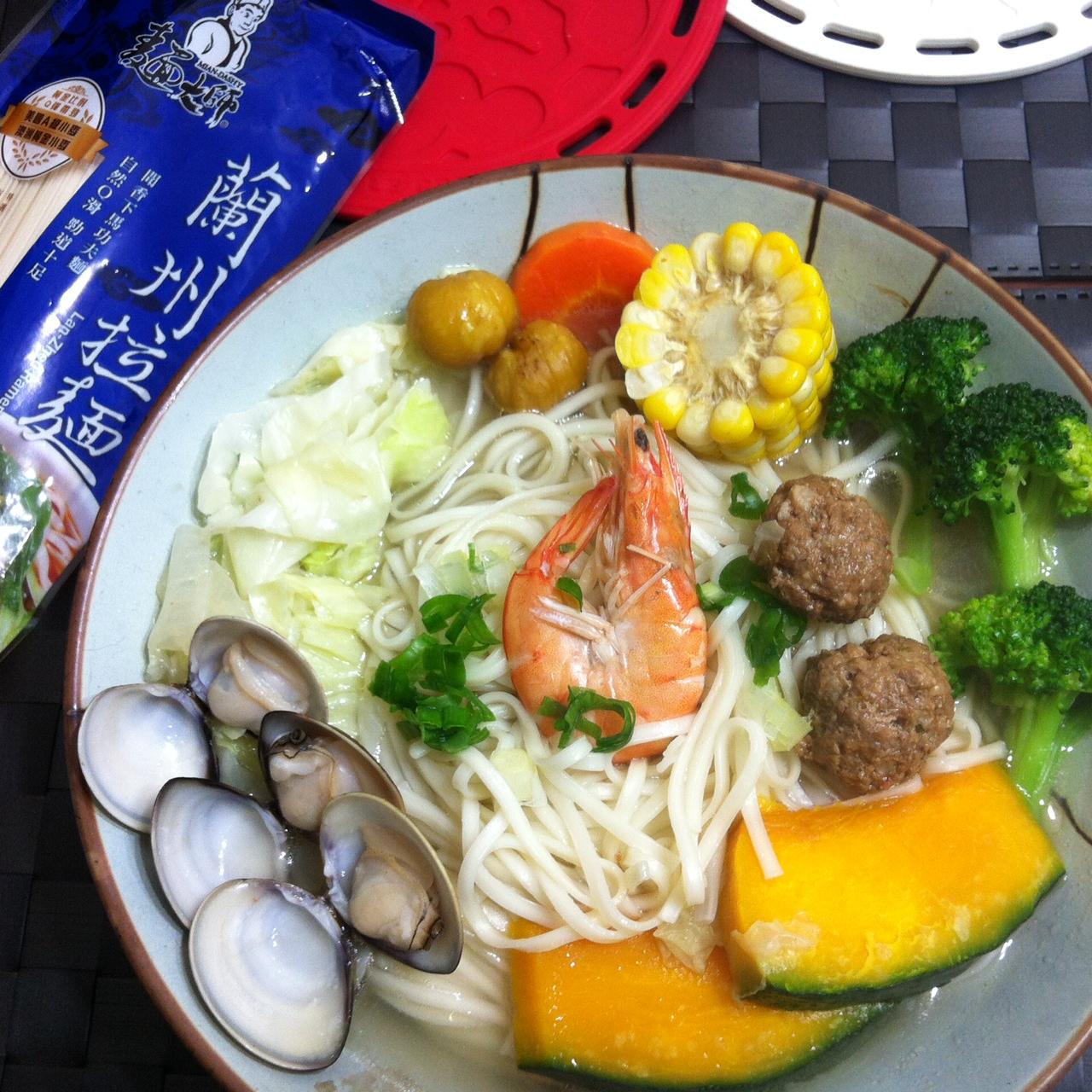 元氣蔬菜雞湯麵 加料篇【五木麵條】
