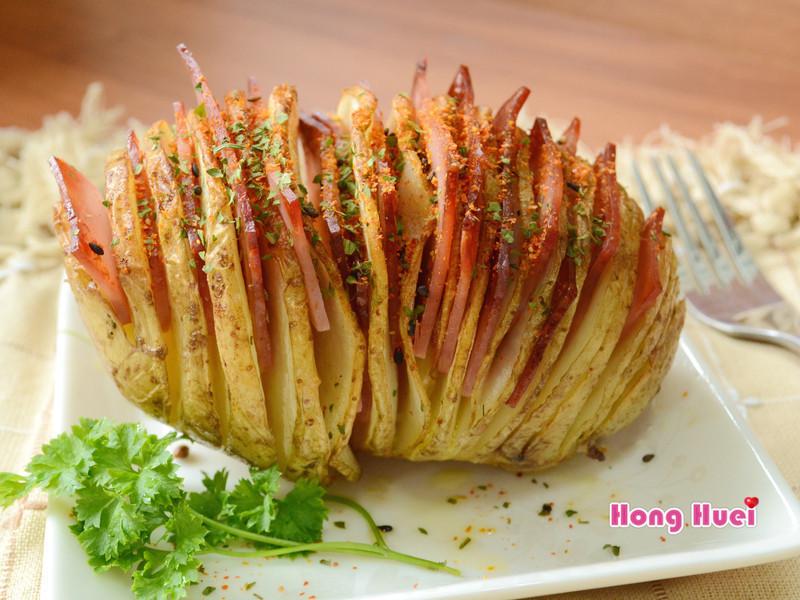 薄切火腿馬鈴薯《飛利浦氣炸鍋》