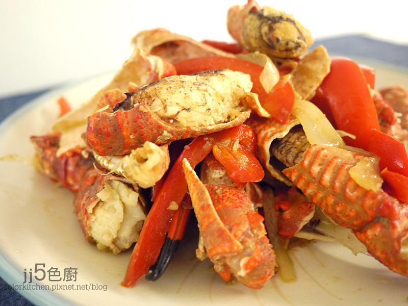【海鮮】簡易辣炒蟹腳