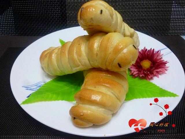 毛毛蟲魚鬆麵包【好蟲上菜囉】