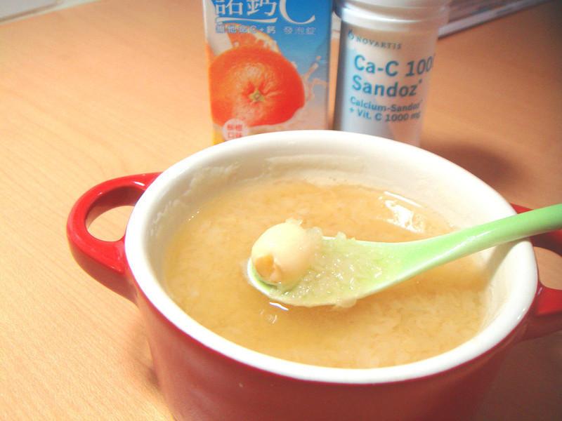 蓮子木耳橘冰飲『諾鈣C發泡錠』