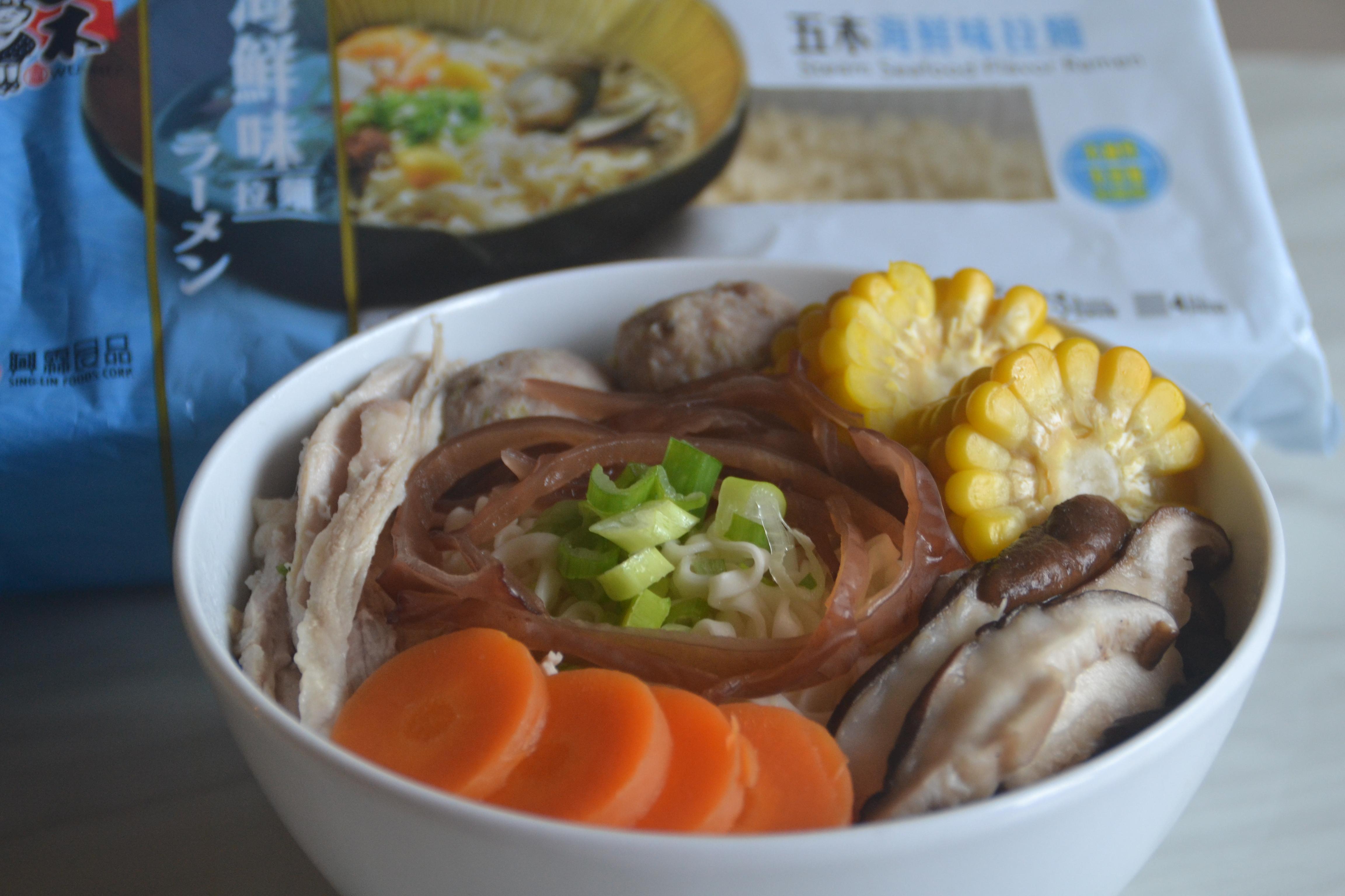 雜燴麵【五木海鮮味拉麵】