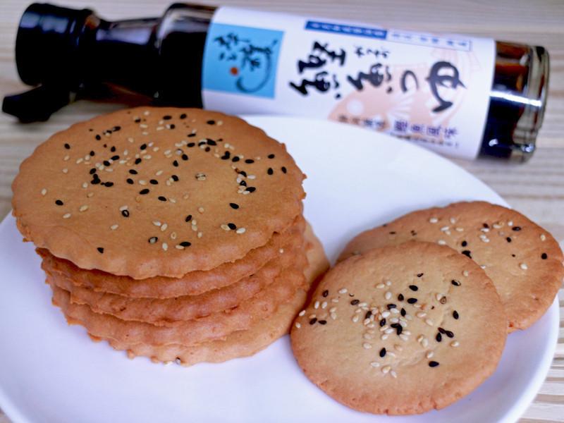 芝麻煎餅『淬釀日式下午茶點』
