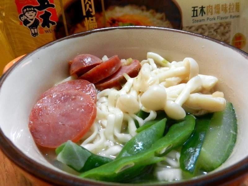 清爽時蔬肉燥味『五木拉麵』
