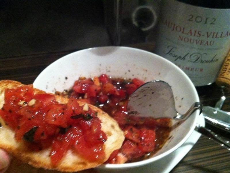 番茄羅勒香蒜醬/Bruschetta簡版