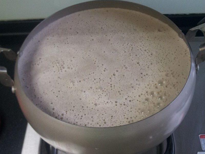 黑芝麻米漿