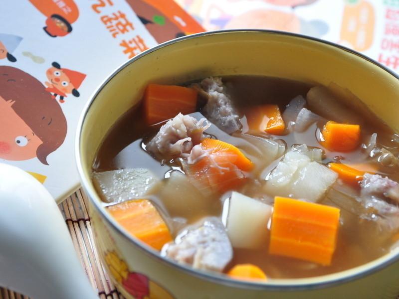 根莖類蔬菜湯【我的第一套好好吃吃食育繪本】