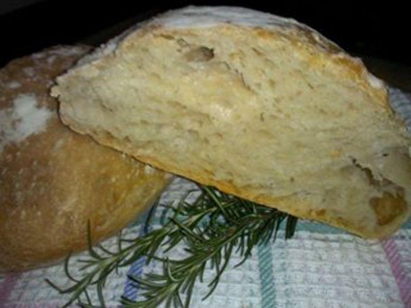 免揉原味歐式麵包