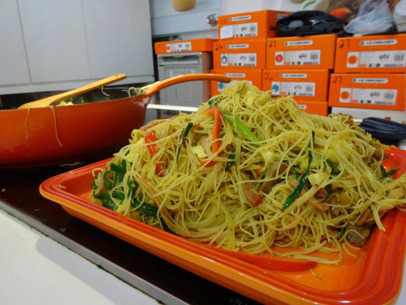 星洲炒粉(Le Creuset料理課程)