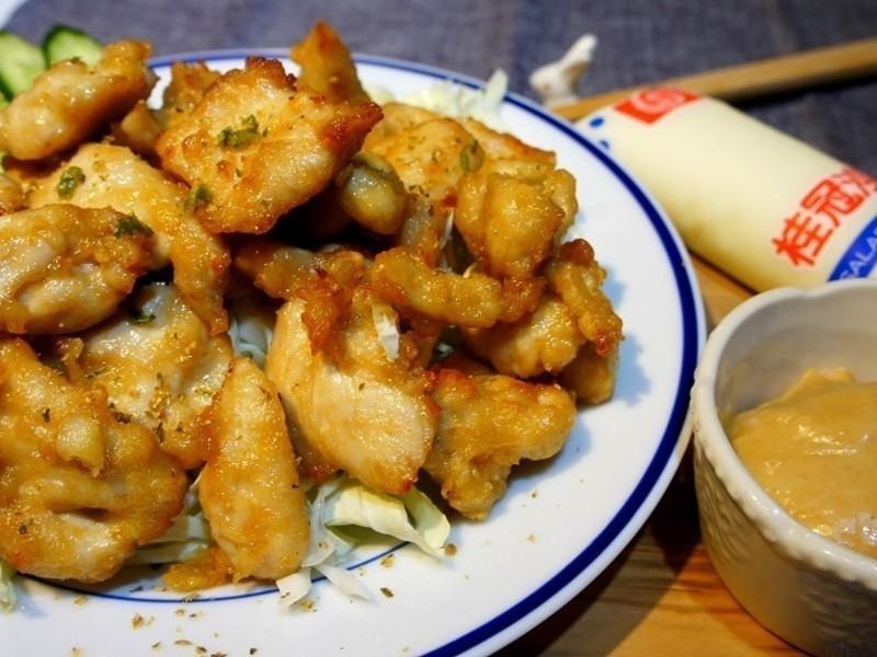 【桂冠沙拉就醬調】日式炸雞與味噌沙拉醬