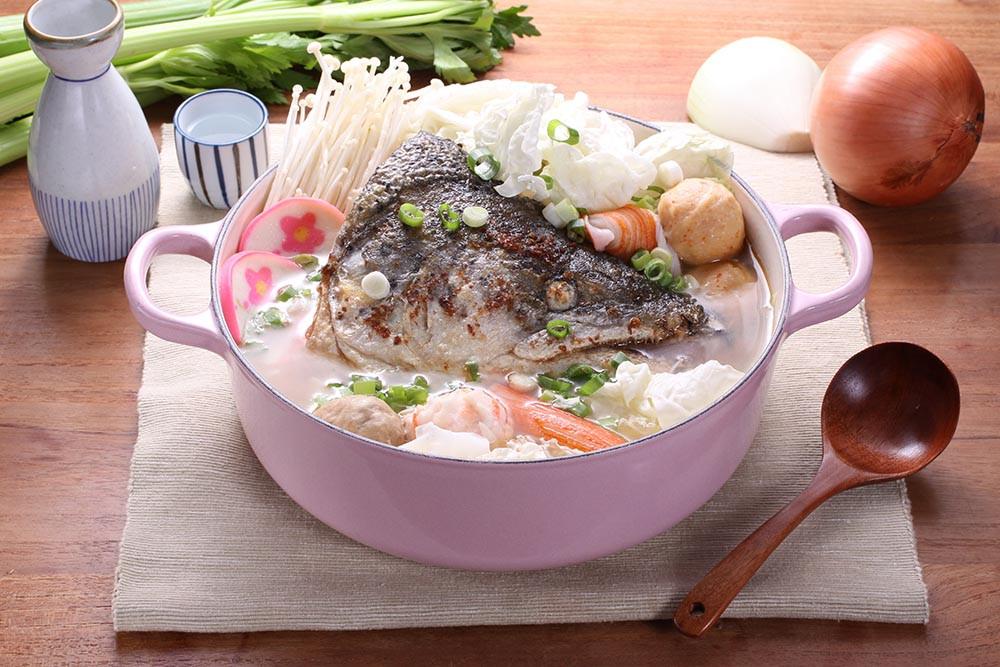 <湯瑪仕幸福廚房> 鮭魚頭小火鍋