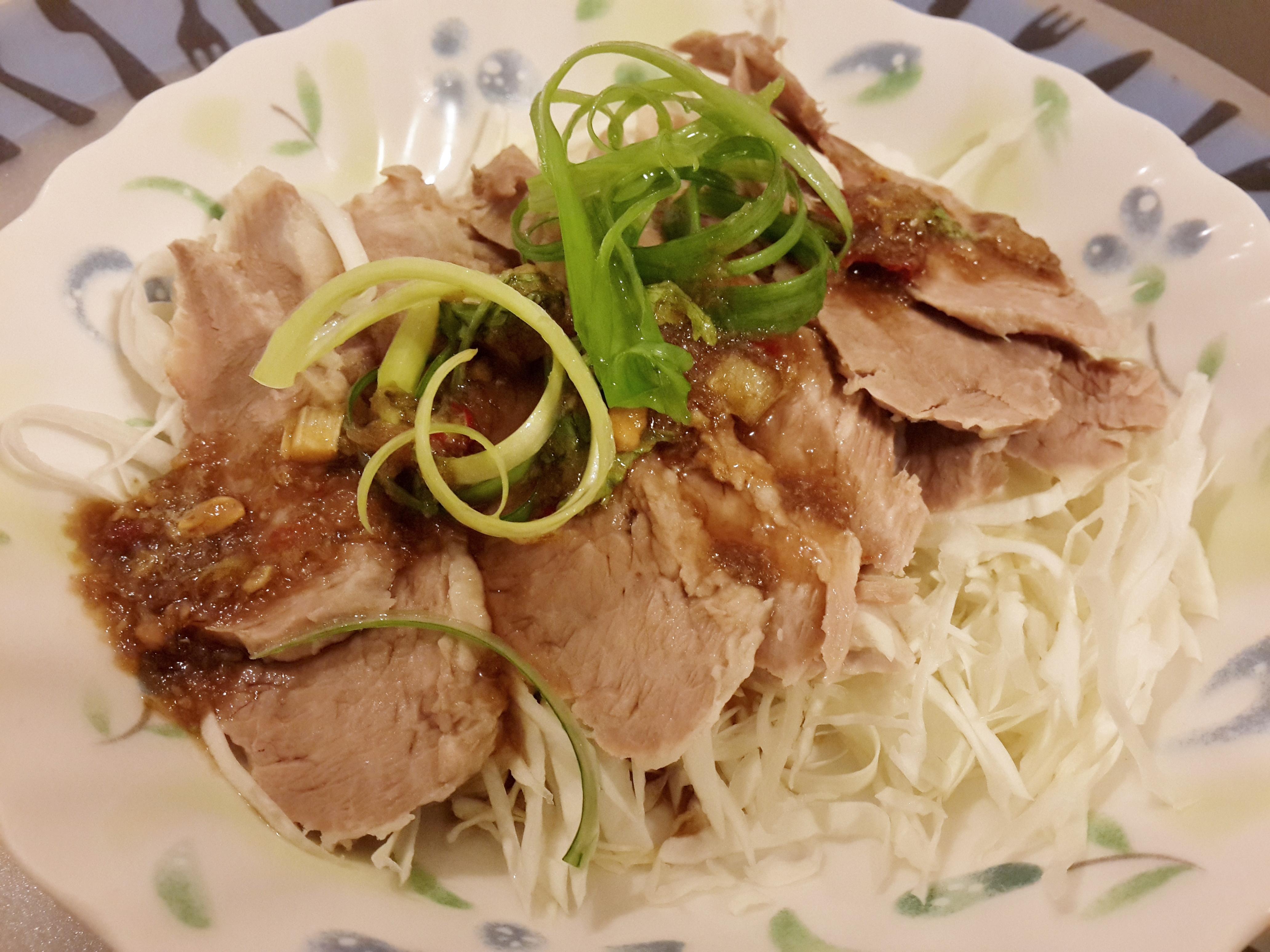 泰式松坂豬肉薄片
