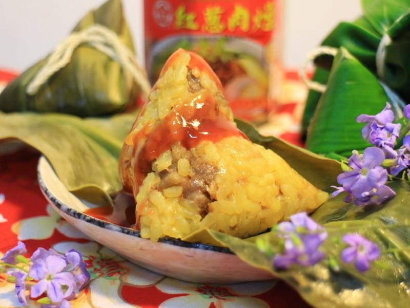 金黃香米粽『牛頭牌端午好香拌』