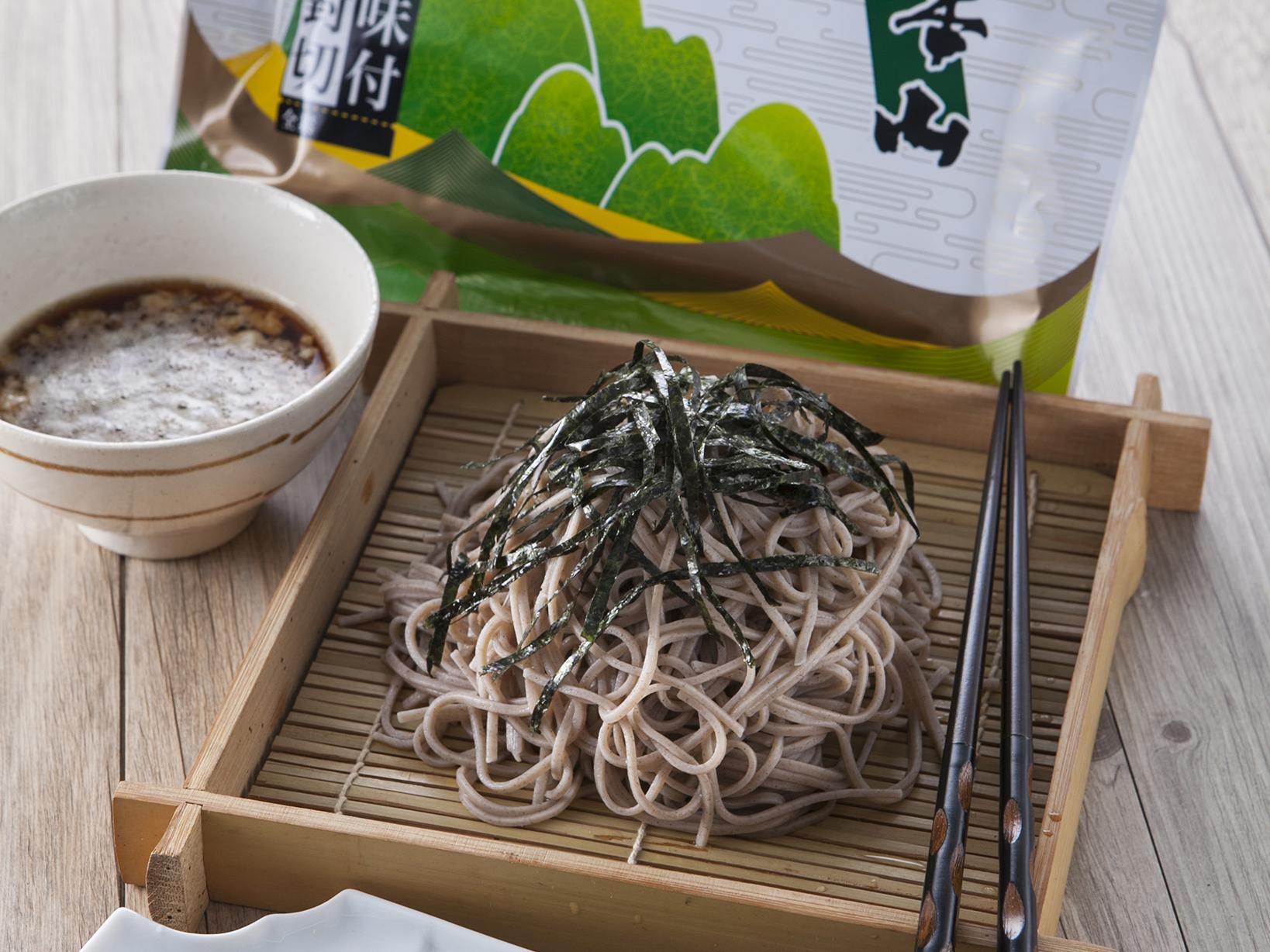 日式涼麵 [元本山海苔]