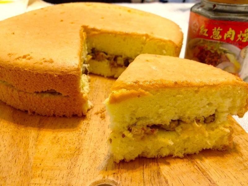 豐原鹹蛋糕~牛頭牌端午好香拌