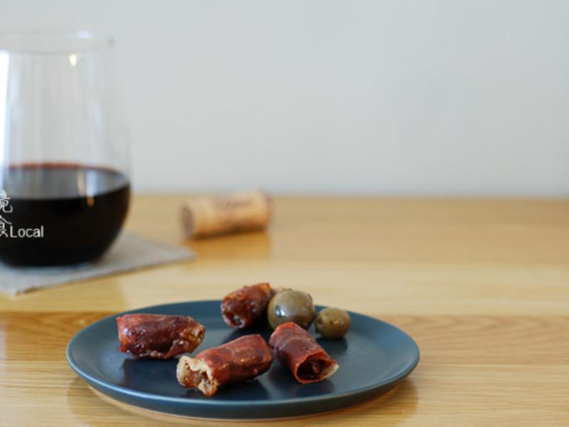 西班牙火腿焗蜜枣