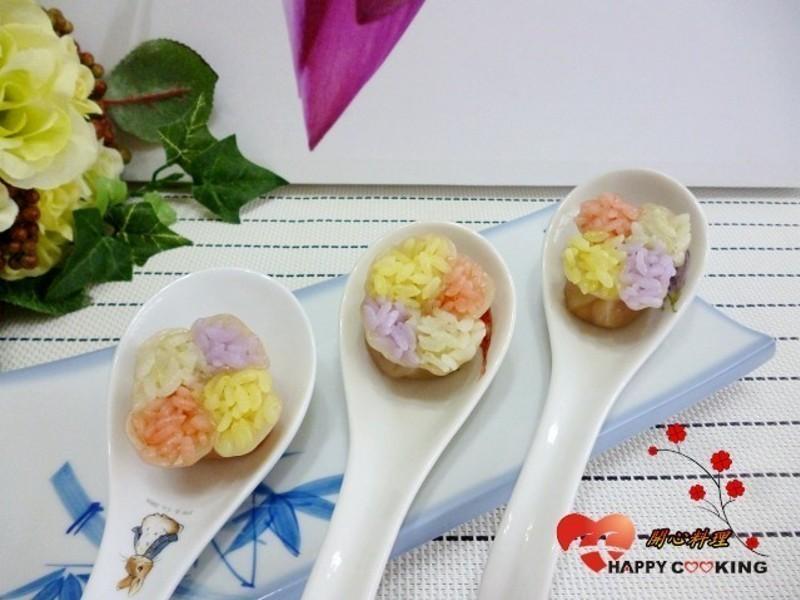 四色米蒸餃