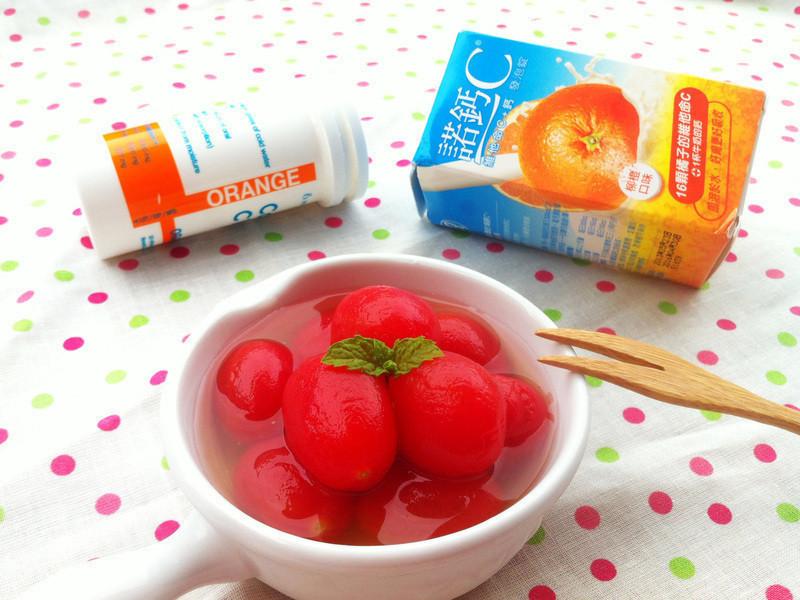 C漬小番茄『諾鈣C發泡錠』